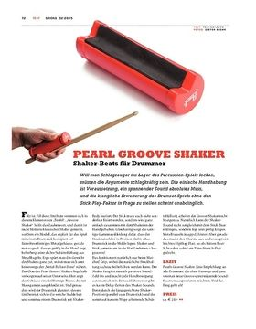 Pearl Groove Shaker