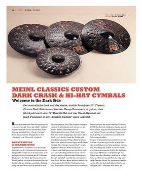 Meinl Classics Custom Dark Crash & Hi-Hat Cymbals