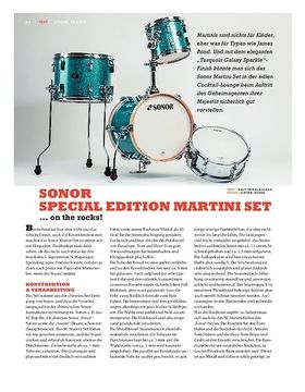 Sonor Special Edition Martini Set