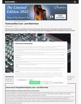 Testmarathon Live- und Kleinmixer