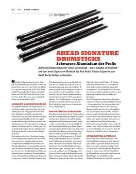 Ahead Signature Drumsticks