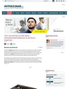 Test: Blackstar ID:Core BEAM , Gitarrenverstärker mit Bluetooth-Funktion