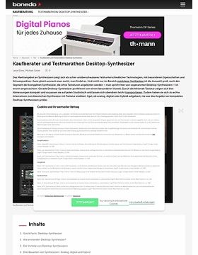 Test-Marathon Desktop-Synthesizer