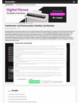 Dave Smith Instruments Prophet 12 Module – Musikhaus Thomann