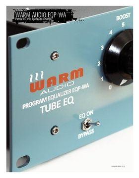 Warm Audio EQP-WA - Passiv-EQ mit Röhrenaufholstufe