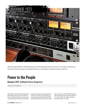 Drawmer 1973 - Multiband-Stereo-Kompressor