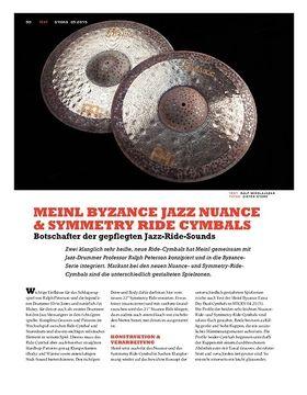 Meinl Byzance Jazz Nuance & Symmetry Ride Cymbals