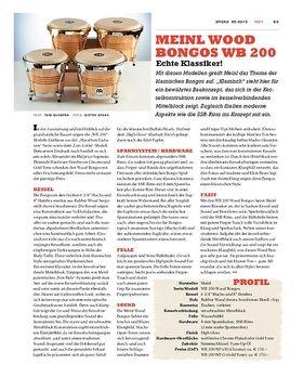 Meinl Wood Bongos WB 200