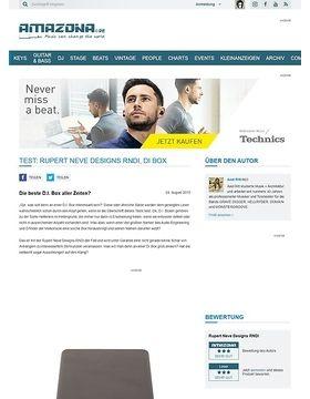 Test: Rupert Neve Designs RNDI, DI Box