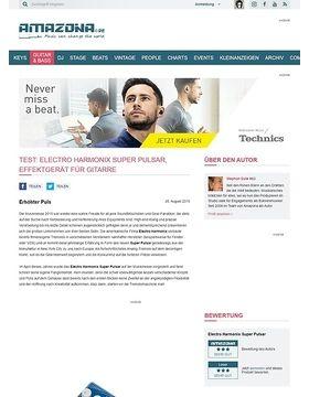 Test: Electro Harmonix Super Pulsar, Effektgerät für Gitarre