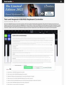 Test-Marathon USB / MIDI Keyboard Controller