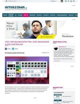 Test: Arturia BeatStep Pro, Step-Sequencer & MIDI Controller
