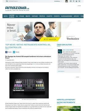 Top News: Native Instruments Kontrol S5, DJ-Controller