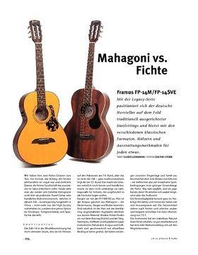 Framus FP-14M/FP-14SVE, A-Gitarren