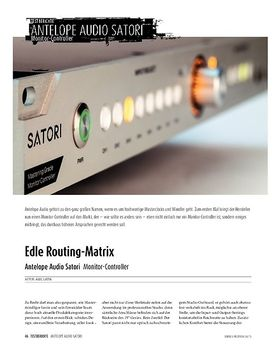 Antelope Audio Satori - Monitor-Controller