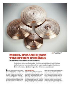 Meinl Byzance Jazz Tradition Cymbals