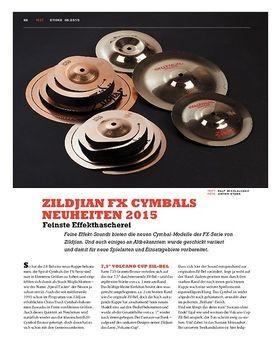 Zildjian FX Cymbals Neuheiten 2015
