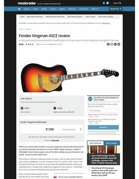 Fender Kingman ASCE