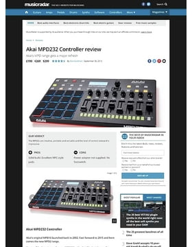 Akai MPD232 Controller