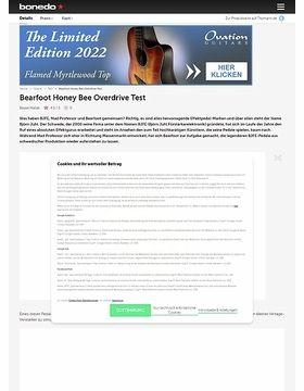 Bearfoot Honey Bee Overdrive