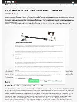 DW MDD Machined Direct Drive Double Bass Drum Pedal