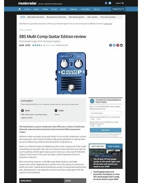 EBS Multi Comp Guitar Edition