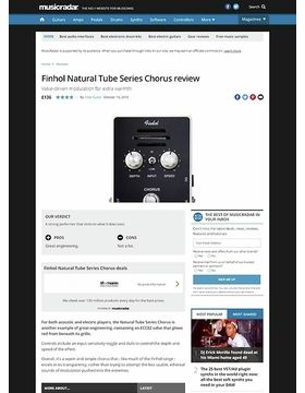 Natural Tube Series Chorus