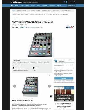 Native Instruments Kontrol D2