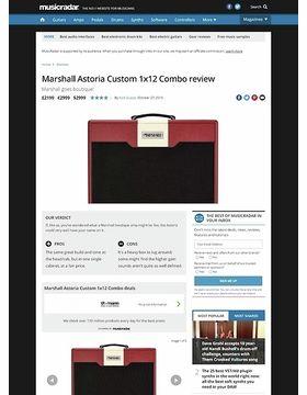 Marshall Astoria Custom 1x12 Combo