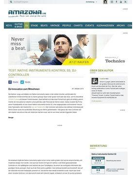 Test: Native Instruments Kontrol S5, DJ-Controller
