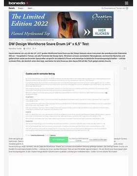 DW Design Workhorse Snare Drum 14x6,5