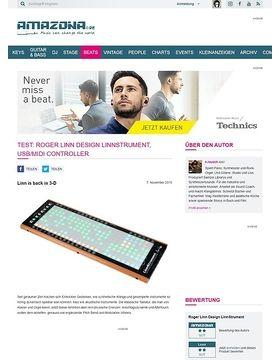 Test: Roger Linn Design LinnStrument, USB/MIDI Controller