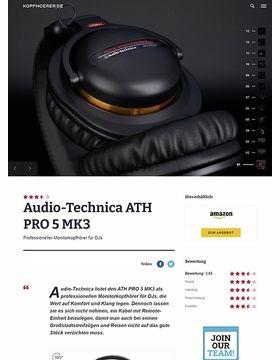 Audio-Technica ATH-PRO5 MK3 BK