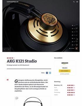 AKG K-121 Studio
