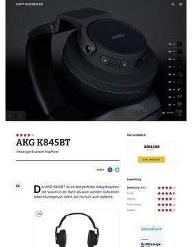 AKG K-845BT Black