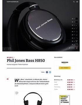 Phil Jones PJB H-850