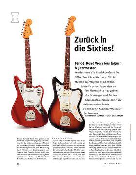 Fender Road Worn 60s Jaguar & Jazzmaster, E-Gitarren