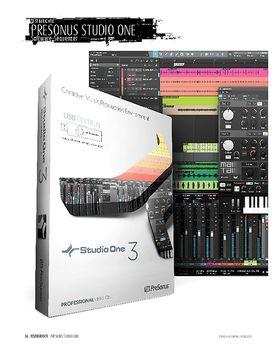 Presonus Studio One 3 Professional - Software-Sequenzer für Mac & PC
