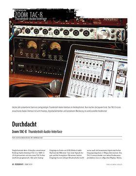 Zoom TAC-8 - Thunderbolt-Audio-Interface