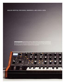 Analog Revival von Moog, Oberheim, Arp, Korg & MFB