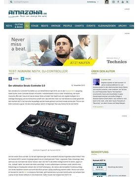 Test: Numark NS7III, DJ-Controller