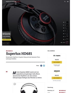 Superlux HD-681