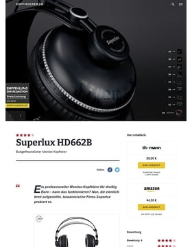 Superlux HD-662 B