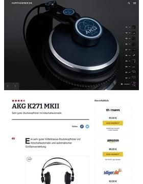 AKG K-271 MKII