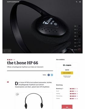 the t.bone HP 66