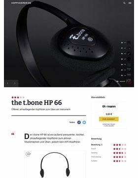 the t.bone HP 66