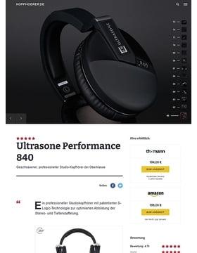 Ultrasone Performance 840