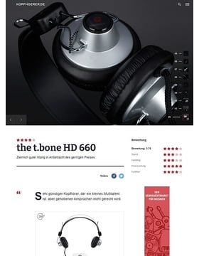 the t.bone HD 660