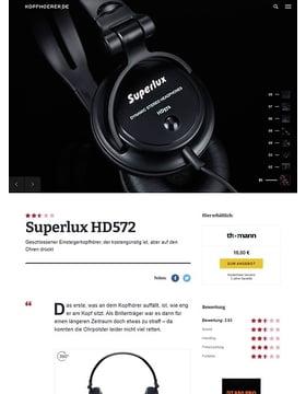 Superlux HD 572