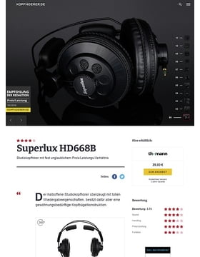 Superlux HD-668 B